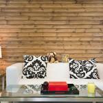Canapé dans les bureaux de Airbnb