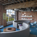 Espace détente des bureaux de Adobe